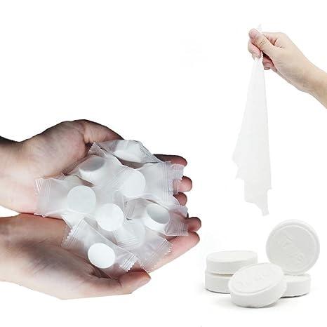 toallitas comprimidas pa/ños pastillas Incutex 100x toallas comprimidas toallitas humedas