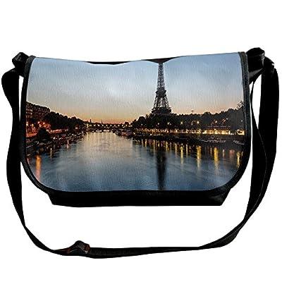 Lovebbag Eiffel Tower At Twilight Travel Destination Tourist Attraction Famous Monument Decorative Crossbody Messenger Bag durable service