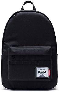 Herschel Unisex Large Black Polyester Casual Backpack 10612-02035-OS