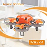 Makerfire Armor 65 Plus Micro FPV Racing Drone 65mm Whoop Quadcopter 7x16mm Motors F3 FC Frsky Compatible Receiver BNF