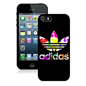 Fashionable And Beautiful Designed Case For iPhone 5 With Adidas 8 Black Phone Case