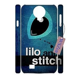 Lilo and Stitch DIY 3D Durable Case for SamSung Galaxy S4 I9500,Lilo and Stitch custom 3d case