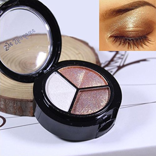 Willtoo Smoky Cosmetic Set 3 colors Professional Natural Matte Makeup Eye Shadow (2)