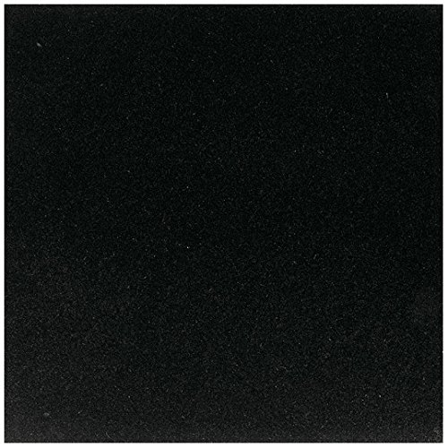 Dal-Tile G7711818121L- Granite Tile, Absolute Black Polished Absolute Black Granite