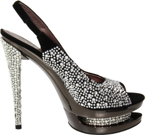 Fascinate Uk Night Chrome 38 Pleaser eu amp; Day Blk Suede 654sl 5 pewter qHE4t