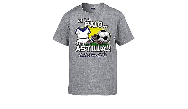 Diver Camisetas Camiseta de Tal Palo Tal Astilla Tenerife fútbol - Gris, 12-14 años: Amazon.es: Ropa y accesorios