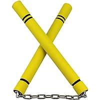 Leoie Safety Foam Nunchakus Sponge Double Truncheon with Stainless Steel Chain For Sport Training