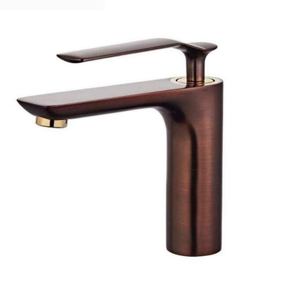 Armaturen Becken Mixerhot und kaltes Wasser mischen Einhand-Einloch-Doppel-Wasserhahn