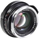 Voigtlander Nokton 35mm f/1.4 Wide Angle Leica M Mount Lens - Black