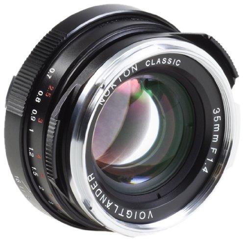 Voigtlander Nokton 35mm f/1.4 Wide Angle Leica M Mount Lens - Black by Voigtlander