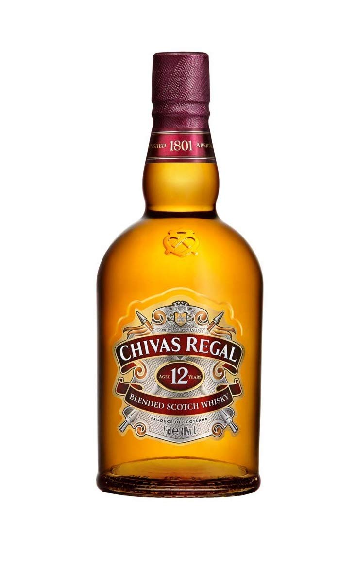 6bf645fc6 Chivas Regal 12 Year Old Blended Scotch Whisky, 70 cl: Amazon.co.uk: Grocery