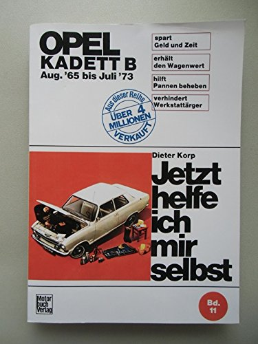Opel Kadett B - ab August '65(Paperback) - 1973 Edition for sale  Delivered anywhere in USA