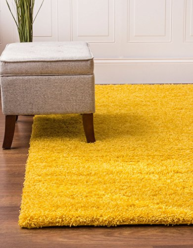Yellow 4 Feet 6 Feet Stain Resistant Non Shed