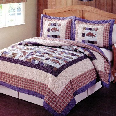 Pem America Swimming Quilt, Queen by Pem America