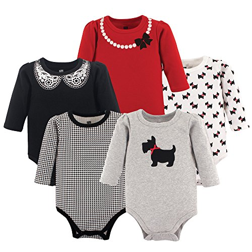 hudson-baby-baby-infant-long-sleeve-bodysuit-5-pack-scottie-0-3-months