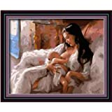 Amazon Com Diyoilpaintings Embracing Lover Paint By