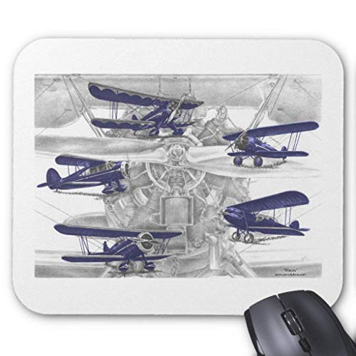 Waco Biplane Mouse Pad