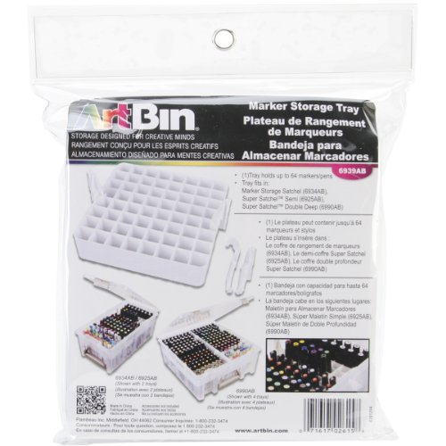 ArtBin  Marker Storage Tray-White, 6939AB (Acrylic Paint Organizer compare prices)