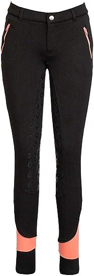 Amazon Com Tuffrider Children S Macy Winter Breeches Color Black Size 14 Clothing