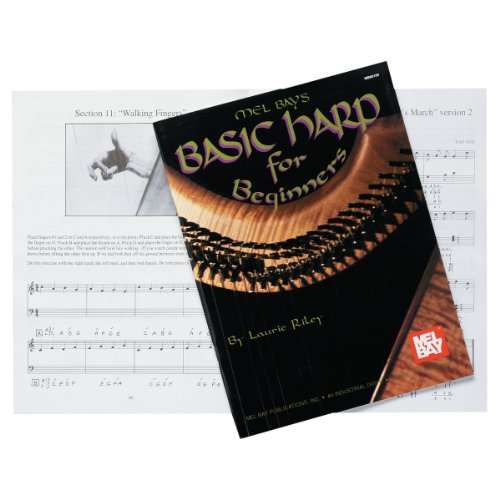 Design Toscano Basic Harp for Beginners Instruction Book, 77 Pages, , ()