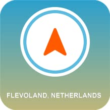 Flevoland, Holanda GPS