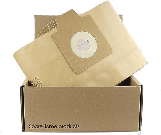 10 bolsas de alta calidad para aspiradores Nilfisk PPT20: Amazon ...
