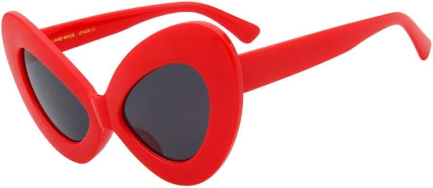 HYUHYU elegante sexy mujeres gafas de sol ojo gato grande gafas de sol retro moda mujer sombras Uv400