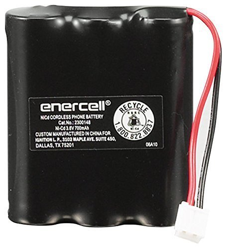 Enercell 3.6V/700mAh Ni-Cd Battery for AT&T and VTech (23...