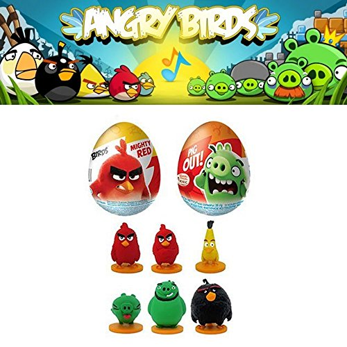 """""""ANGRY BIRDS MOVIE""""SURPRISE EGG with 3D TOY INSIDE"""