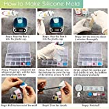 LET'S RESIN Silicone Mold Making Kit Liquid
