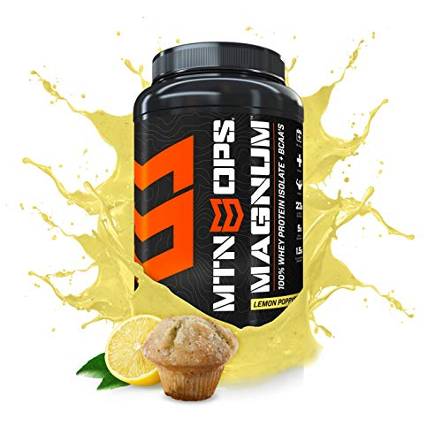 Lemon Poppy Seed Powder - MTN OPS Magnum 100% Whey Isolate