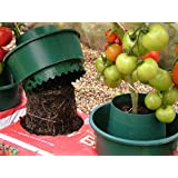 Garden Growpot Growbag Watering Pot - Set of 6