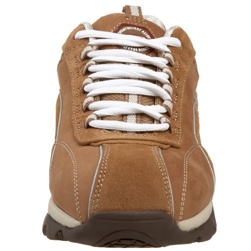 Skechers for Work Womens 76348 Meribel Lace-Up Sneaker Brown 5Hnq79