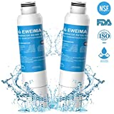 DA29-00020B Refrigerator Water Filter Replacement for Samsung DA29-00020B, Water Filtration Cartridge for Samsung DA29-00019A, DA29-00020B, DA97-08006A, DA97-08006B, DA97-08006A-B - Two Pack