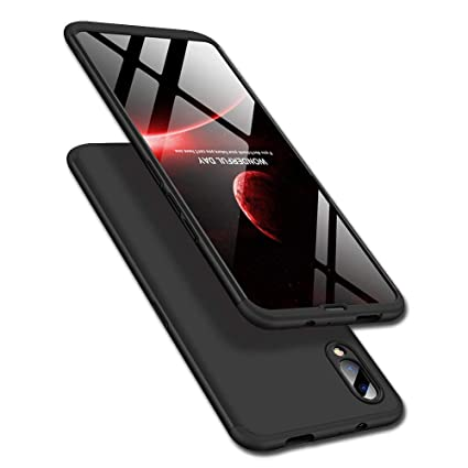 hot sale online 90eff 20e36 Designerz Hub Vivo V11 Pro Cover Case Ull Body 3 in 1 Slim Fit Complete 3D  360 Degree Protection Hybrid Hard Bumper Back Case Cover for Vivo V11 Pro  ...