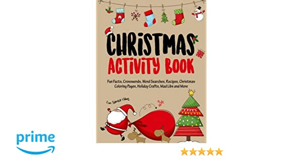Workbook christmas kids worksheets : Christmas Activity Book: Filled with Fun Christmas Activities, Fun ...