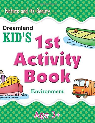 1st Activity Book - Environment (Kid's Activity Books)