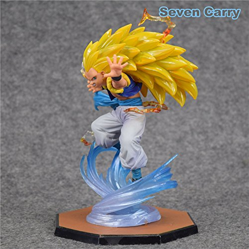 [Dragon Ball Z Super Saiyan 3 Gotenks ZERO Figuarts PVC Action Figure Collectible Model Toys] (Dbz Saiyan Armor Costume)