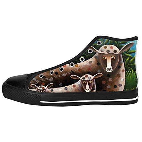 Dalliy Cute Color Sheep Mens Canvas shoes Schuhe Lace-up High-top Sneakers Segeltuchschuhe Leinwand-Schuh-Turnschuhe B