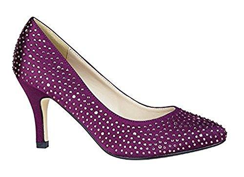 Donna Private Stivali Brand Purple Dark HHfqvEwRx
