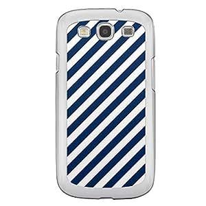 Loud Universe Samsung Galaxy S3 06 Transparent Edge Case - Blue/White