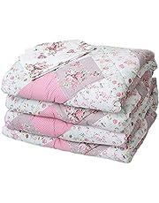 طقم لحاف السرير من المأمون، 4 قطع - متعدد الالوان