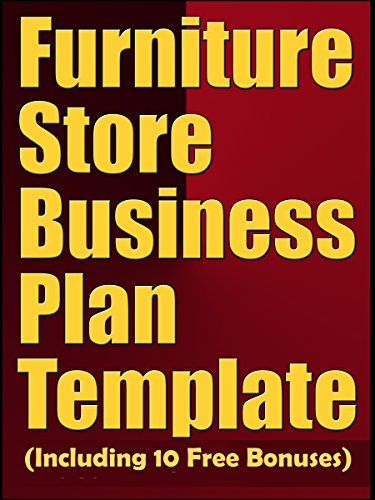 Amazon Furniture Store Business Plan Template Including 10