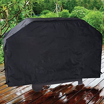 Bon HealthandOutdoors Backyard Grill 60u0026quot; Tear Proof Grill Cover   60 W X  22 ...