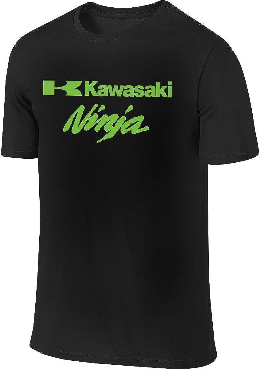 HUALA New Vector Ninja Kawasaki - Camiseta de Manga Corta para Hombre, Color Negro - Negro - XX-Large: Amazon.es: Ropa y accesorios