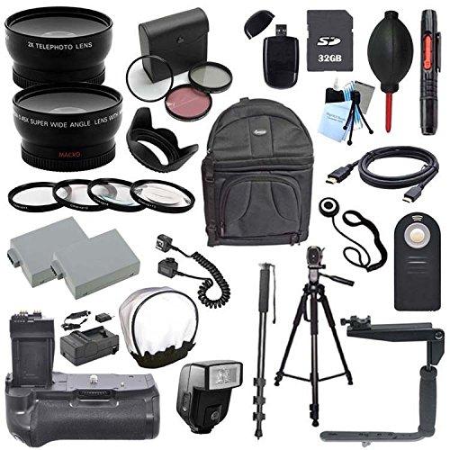 Deluxe 58mm 24 Piece Accessory Bundle for Canon T2I Digital SLR Camera (Fits 18-55MM, EF50MM EF75-300MM,EF-S 55-250MM)