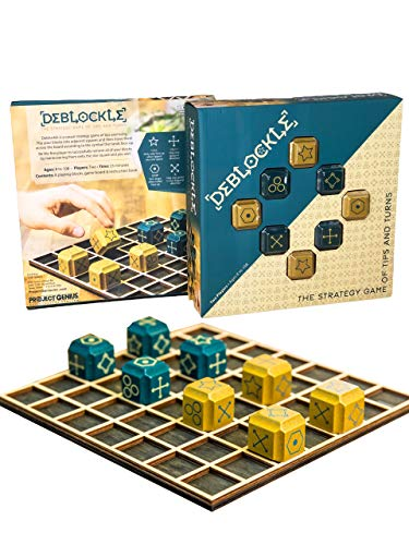DEBLOCKLE - 2 Player Board Games, Strategy Games ()