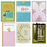 Hallmark Special Connections Thinking of You Card Assortment (6 cards and 6 envelopes)