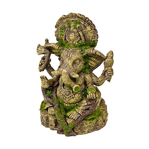 Petland 030157018467 Decoración para Acuario, Diseño Ganesha Statue