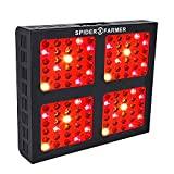 1200W Led Grow Light Dimmable Series Spider Farmer Full Spectrum Dual Growth and Bloom Dimmers for Hydroponic Indoor Plants